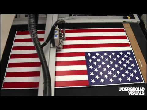 Flag of the United States by Underground Visuals for SNL