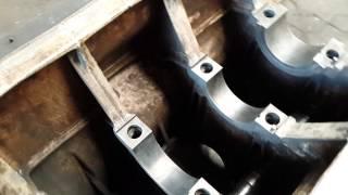 Картер двигателя 3VD 14.512 IFA после обжига.(Капитальный ремонт судовых дизелей, ремонт судовых систем и арматуры, продажа судовых двигателей и запасны..., 2015-07-31T08:31:50.000Z)