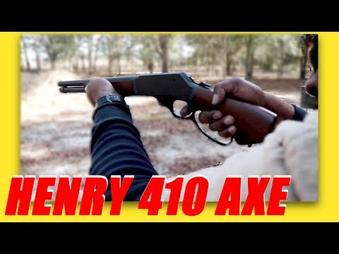 New Fun Sized Lever Action Axe  410 From Henry