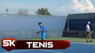 Trening Novaka Đokovića Pred Meč sa Karenjom Bustom u Sinsinatiju   SPORT KLUB Tenis