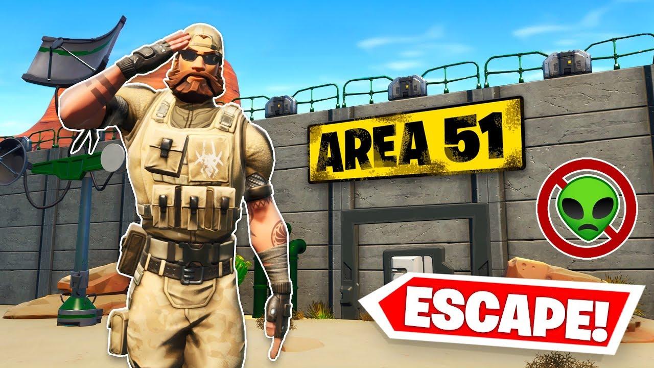 Fortnite Creative Area Code We Broke Out Of Area 51 W Lachlan Alex Fortnite Creative Youtube
