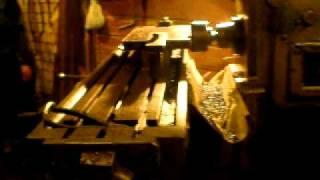 Antique Milling Machine Machining Steel