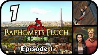 Baphomets Fluch 5 - Der Sündenfall EP1 #01 - Pizza & Mord [Let