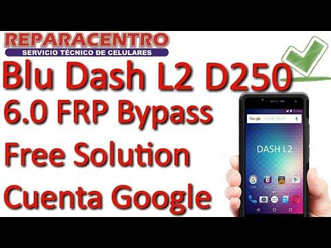 Blu Dash L2 D250L | L3 | L4 | Vivo 5 Mini 6.0 FRP Bypass SIN PC Cuenta Google