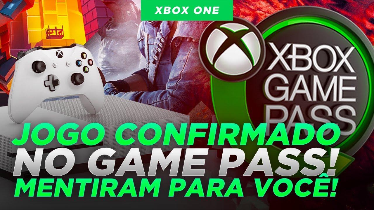 NOVO JOGO CONFIRMADO para o GAME PASS e MENTIRAM PRA VOCÊ sobre o XBOX ONE!