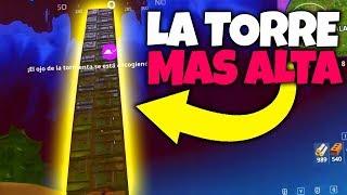 LA TORRE MÁS ALTA (Fortnite Battle Royale)