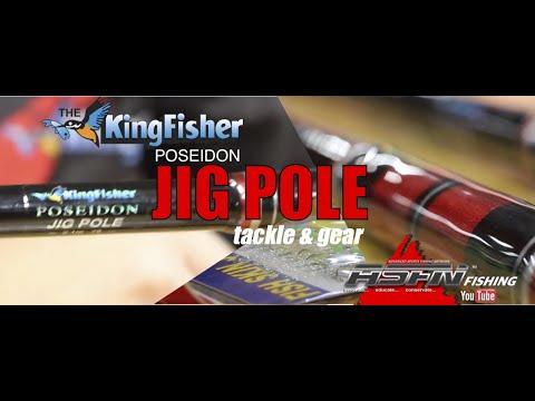 The Kingfisher Poseidon Jig Pole - Tackle & Gear [ASFN Fishing]