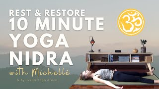 10 Minute Yoga Nidra   Techniques for Deep Relaxation   Yoga Online with Michelle