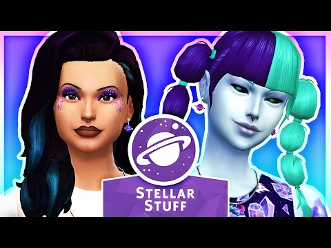 The Sims 4: Stellar Stuff Pack ★ Custom Content Showcase