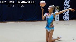 Фишки художественной гимнастики Сложный Трюк Мастерство с Мячом Tips&Tricks Rhythmic Gymnastics №4
