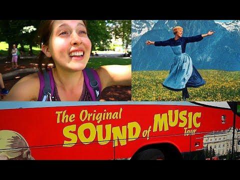SALZBURG AUSTRIA // The Sound Of Music Tour! // Travel Vlog