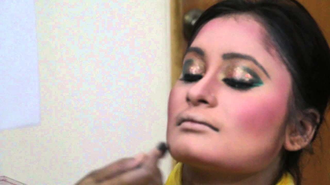 Easy Party Makeup In Bangladesh - YouTube