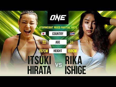 Itsuki Hirata vs. Rika Ishige   Full Fight Replay