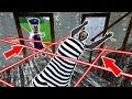 سجين الجدة مقابل آيس سكريم شرطي - محاكاة ساخرة للرسوم المتحركة المرعبة (ص 75)