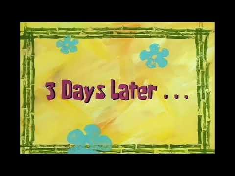 Spongebob waiting moment