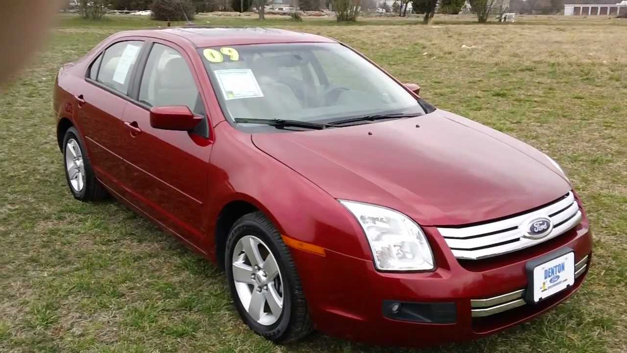 Used car for sale maryland 2009 ford fusion se