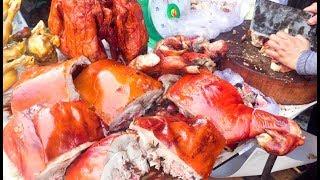 Asian Street Food, Fast Food Street in Asia, Cambodian Street food #225