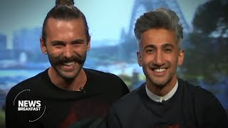 Queer Eye cast try their Aussie accents