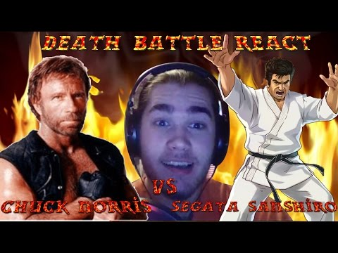 MonkeeMan Reacts To DEATH BATTLE Chuck Norris VS Segata Sanshiro!!!!!