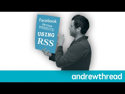 Put Facebook Page Feed on Your Website or Blog using RSS