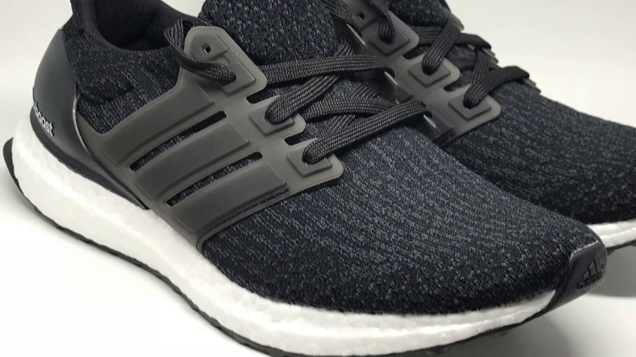 56ae17e11d43c ... discount adidas ultra boost 3.0 core black dark grey ba8842 unboxing  long version4k 9508a 3b3d5