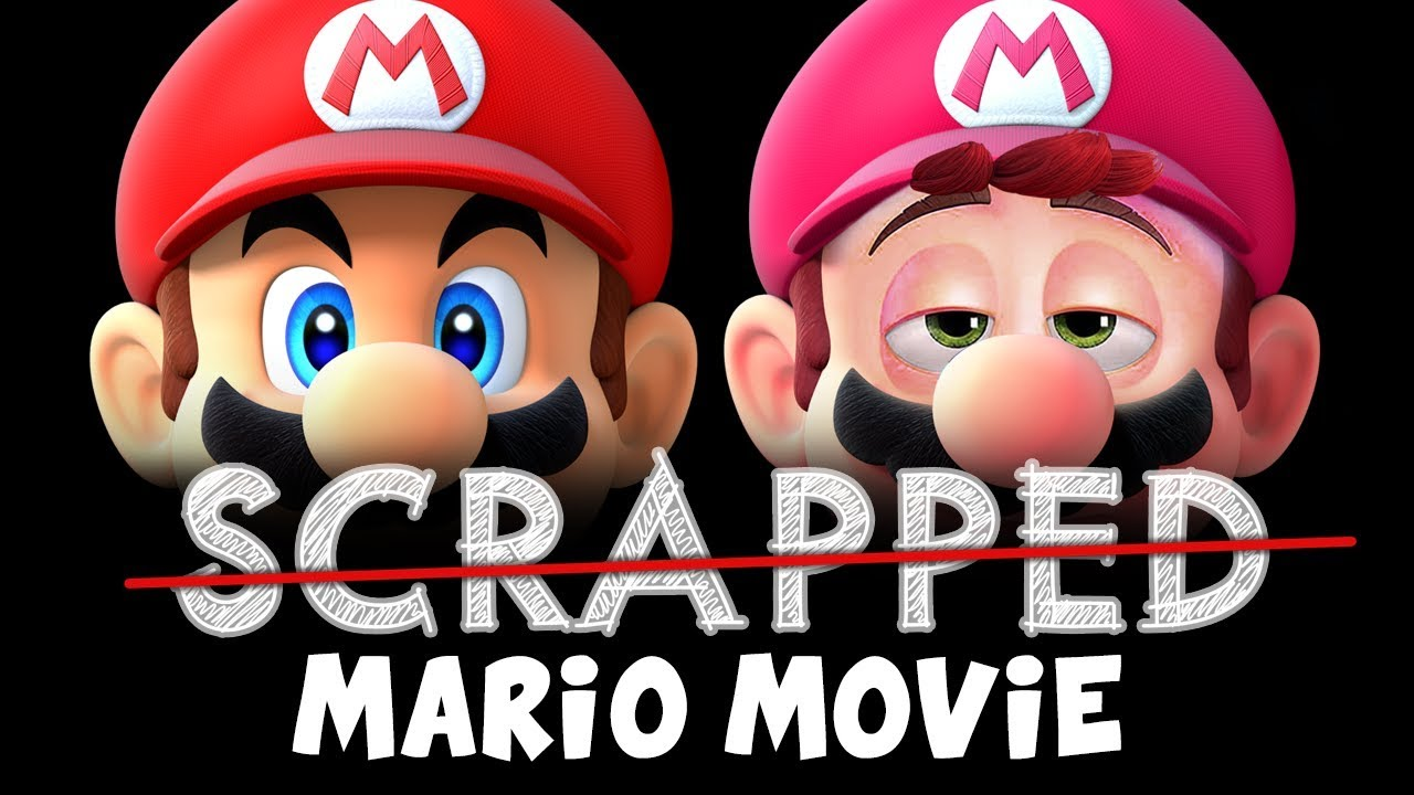 Scrapped Super Mario Bros Movie Youtube
