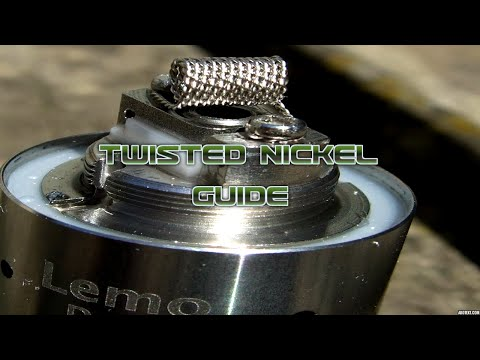 Twisted Nickel Wire Guide