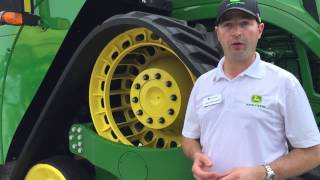 get scoop on new john deere 4 track 9rx series tractors