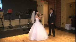 Невеста поет на свадьбе Только мой New YorkI