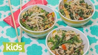 Easy Fried Rice Recipe With Chicken - Woolworths Fresh Ideas Kids