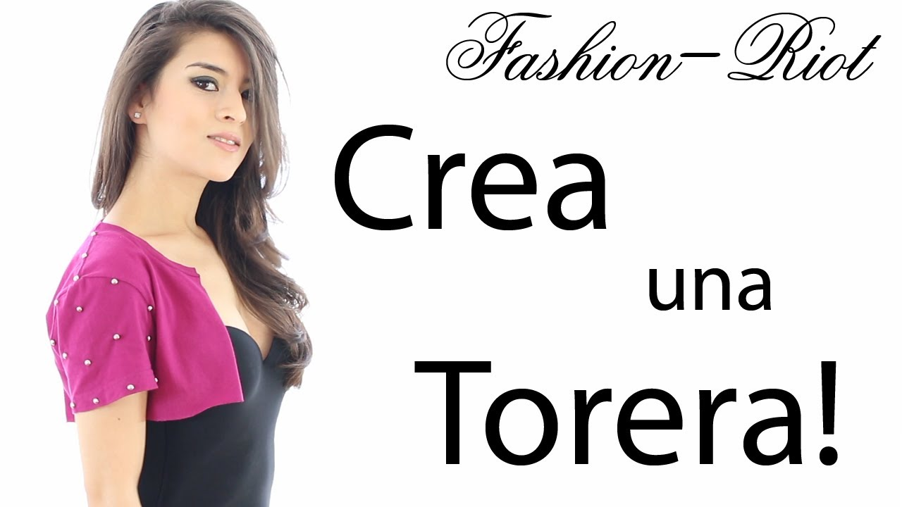 Recicla una camiseta DIY Torera | Fashion Riot - YouTube