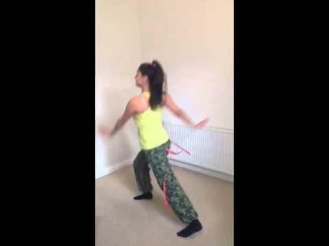 Andrasi Kriszta aerobik video