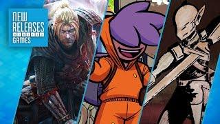 Nioh, Splasher, Gunmetal Arcadia - New Releases