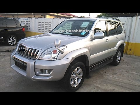 Toyota Prado 2005 Silver available at HARAB MOTORS TZ