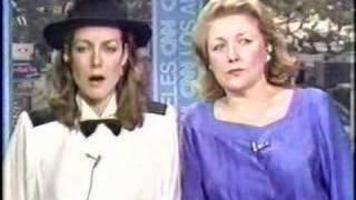 Barbara Taylor Bradford & Jenny Seagorve On CNN