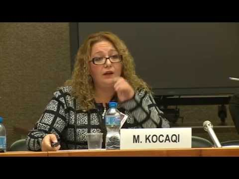 Where We Stand in the UN ECE Region - Monika Kocaqi, Albania