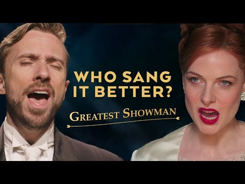 Never Enough - The Greatest Showman (Male...