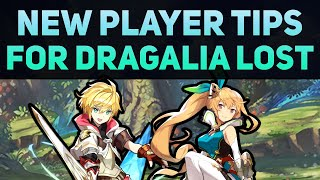 Beginner Tips for Dragalia Lost | New Player Advice & Important Things to Know