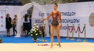 Diana Dauletova - Senior 11 - Kazakh Championships Astana 2016