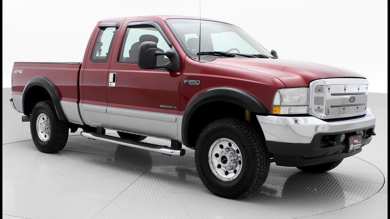 2002 ford f 250 xlt 4wd w 7 3l v8 diesel engine ridetime ca [ 1280 x 720 Pixel ]