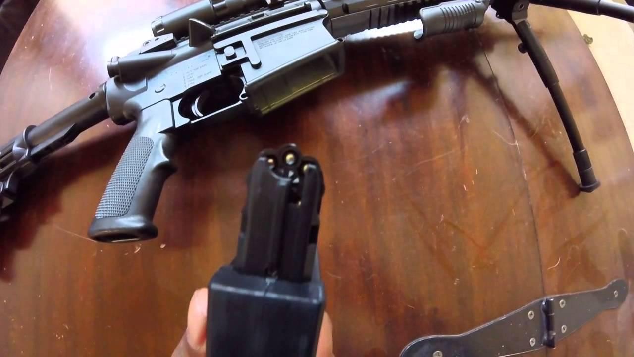 Winchester MP4 pellet gun review