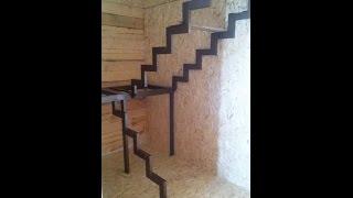 Лестницы на металлокаркасе(Ступени металлических лестниц могут быть облицованы различными материалами, но отделка деревом остается..., 2016-12-20T14:49:07.000Z)