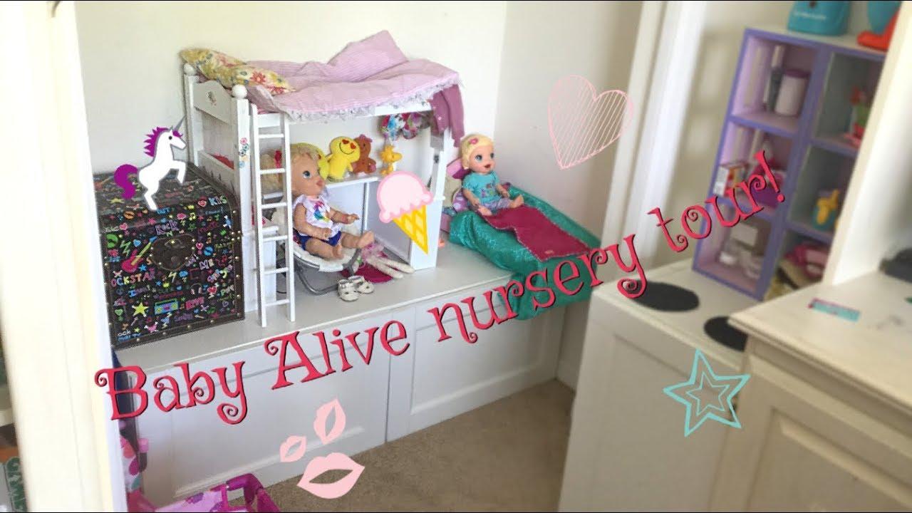 Baby Alive Nursery Tour Youtube