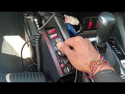 Suara Sirine Polisi Mazda 6
