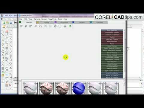 CorelCAD – Creating a 3d floor plan