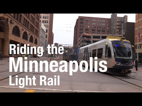 A Trip on the Minneapolis Light Rail