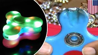 アメリカでブームに火が付き、社会現象にもなっている玩具「ハンドスピ...