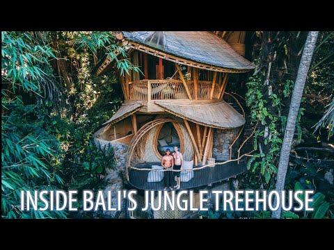 Inside Bali S Bamboo Treehouse Paradise Youtube