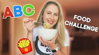 ABC FOOD CHALLENGE in 24 UUR! 😱