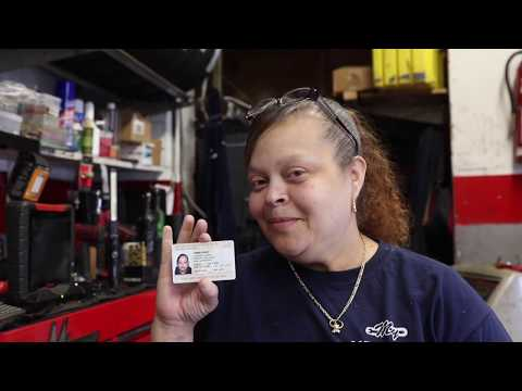 Mechanic is one of New York's few female auto inspectors